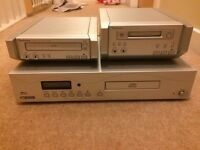 Technics CD and Mini Disc player & an Acoustic Solutions CD player