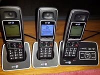 BT 6500 Dect triple set with call blocking