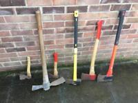 Selection of axes