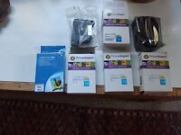 5, Ink cartridges. HP- DJ810C840C. Four black, and one colour. new and boxed £12.00 cash.