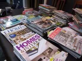 Home building and renovating magazines