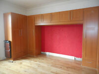 Large fitted wardrobes, very good condition