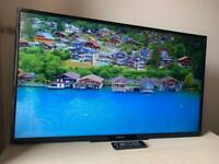 """50"""" Finlux LED smart tv with remote(no stand)"""