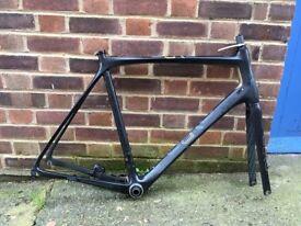 Orro Gold road bike frameset 60cm / XL with Chris King bottom bracket