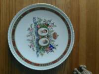 Royal bone china plate