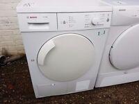 7KG BOSCH condenser dryer, excellent condition, 3 months warranty