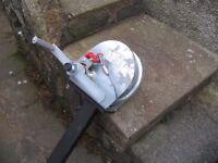 Pfaff Silberblau 1.35t (3000lb) Hand winch with bracket