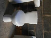 WC & Sink Package with taps and pedestal for sale