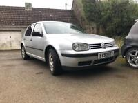 2004 (53) VW GOLF 1.4 75BHP SPARES / REPAIRS