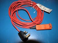 Black And Decker 7 Metres Lawnmower Cable Extension