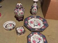 Decorative Chinese pottery