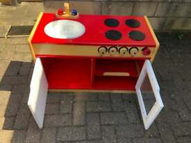 Old style play kitchen