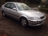 1998 HONDA CIVIC 1.6 1 FORMER KEEPER FROM NEW GENUINE MILES FULL LEATHER INTERIOR