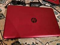 *HP 15-ac107na 15.6 inch Best Rated Laptop Intel Pentium 3825U, 4GB RAM, 1TB HDD red