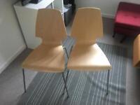 2 x Vilmar Ikea chairs