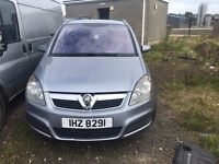 2007 Vauxhall zafira, 1.9 diesel, breaking for parts only, all parts available