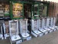 CATERING COMMERCIAL BRAND NEW GAS DONER KEBAB SHAWARMA GRILL MACHINE KITCHEN SHOP RESTAURANT KITCHEN