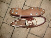 Full Leather upper and Soles Collectors Golf shoes