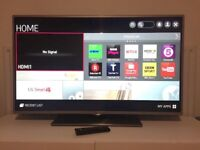 "42"" LG SMART WIFI TV VERY GOOD CONDITION CAN DELIVER"