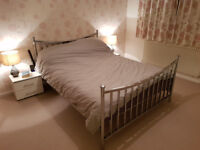 Lovely King size bed frame for sale £375 new from Next