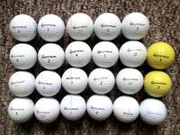 23 Taylormade golf balls in excellent condition, rocketballz, xp ldp, burner