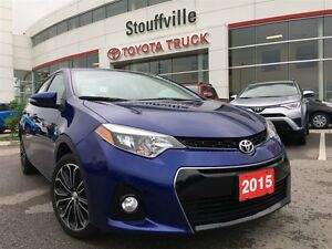 2015 Toyota Corolla S - Leather, Nav & Moonroof!