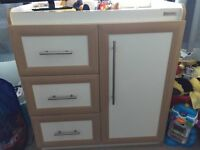 Mamas and Papas Wardrobe and Changing Unit, Excellent Condition