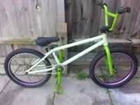 bmx stunt bike eastern small crank 9 tooth spares or repairs