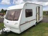caravan 2 birth stellar luna 400 £3250.00 ono
