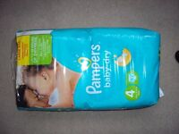 Pampers size 4 (62pc)