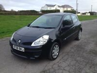 2008 Renault Clio 1149cc. MOT May 2017. Drives perfectly. Bargain £995.
