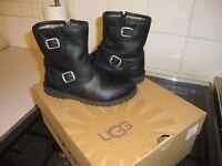 genuine UGG girls boots size 9