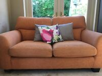 2 seater sofa, clean and comfy