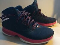 Adidas Mad Handle 2 basketball shoes in good condition UK size 9