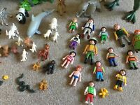 Playmobil animals and people