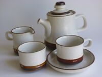 Denby Potters Wheel Tea Set