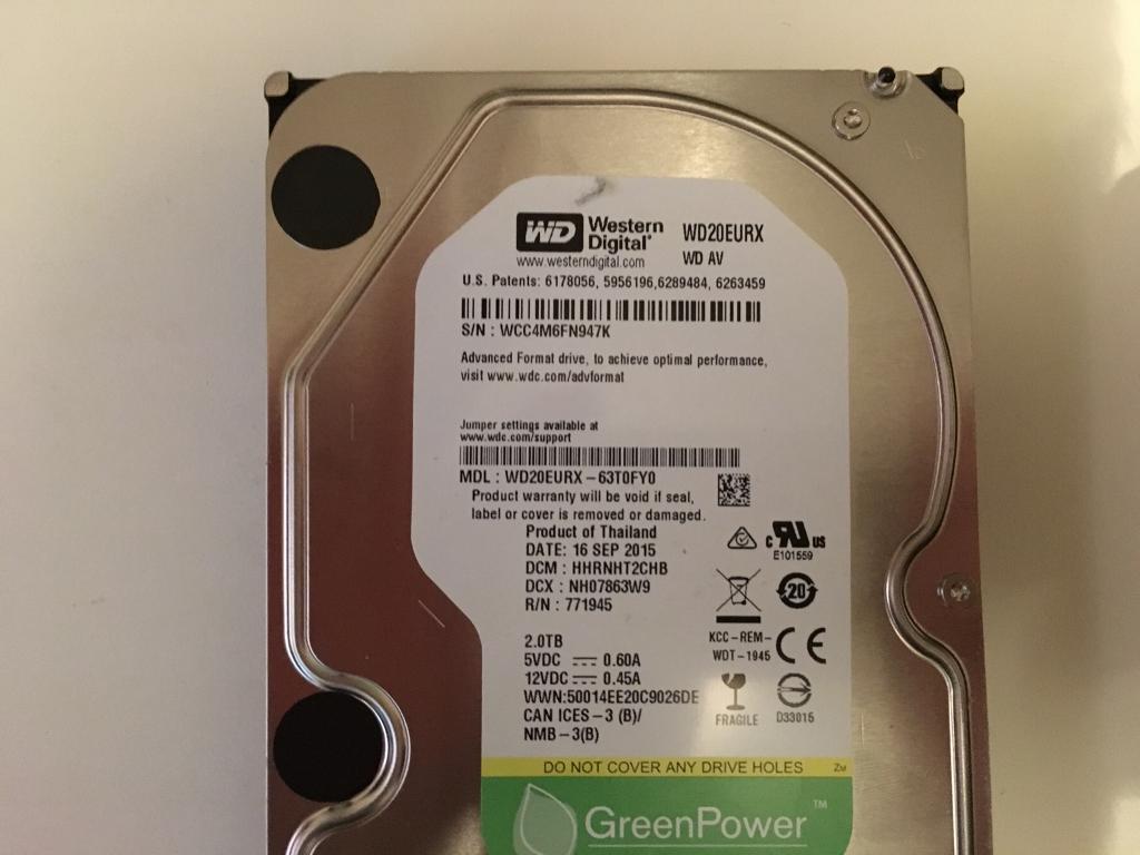 WD  2000GB 2TB hard drive | in Pontprennau, Cardiff | Gumtree