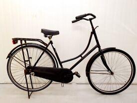l OMA Ladies Dutch City Bike, WARRANTY, Medium Frame, Hub Gears, Full Mudguards, Chain Guard