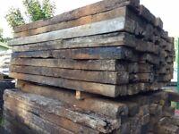Railway Sleeper Timber - Used