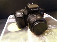 CANON Film Camera EOS 750 WITH ZOOM LENS 35-70mm