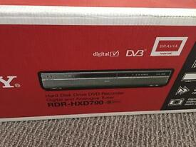 Sony hard disk drive DVD recorder and player