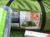 Full camping set up