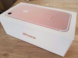 Iphone 7 rose gold 128gb Vodafone