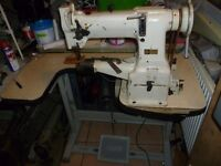 Seiko cylinder arm compound walking foot sewing machine (FOR LEATHER, DENIM