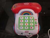 LITTLE TIKES TELEPHONE