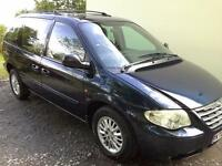 Chrysler Voyager LX auto 2.8 diesel mpv a low mileage & well appointed vehicle with many refinements