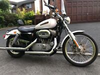 2008 HARLEY DAVIDSON 883 SPORTSTER VERY CLEAN BIKE MUSTV BE SEEN £4750