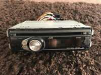 Jvc KD R411 stereo with front usb, aux and MP3 player