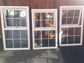 Georgian windows x3