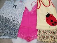 New girls pyjamas sets